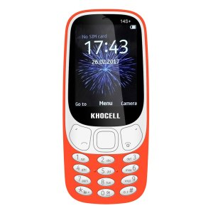 Khocell Telefoons Khocell – K14S+ – Mobiele telefoon – Met prepaid – Oranje