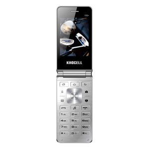 Khocell Telefoons Khocell – K15S+ – Mobiele telefoon – Met prepaid – Zilver