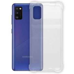 SALE Samsung – Galaxy A41 – Schok bestendig – Siliconen hoesje – Transparant