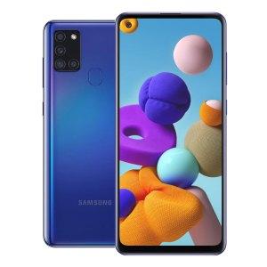 Samsung telefoons Samsung – Galaxy A21S – Dual-Sim – 32GB – Blauw
