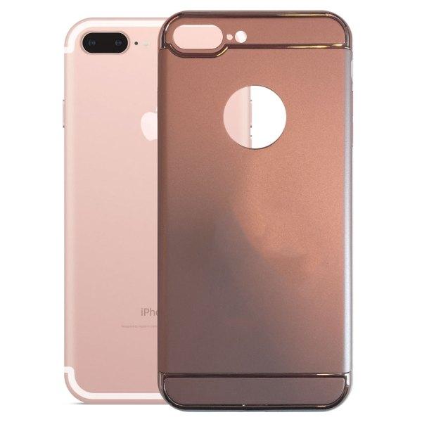 Apple hoesjes Fit Fashion – Hardcase Hoesje –  Geschikt voor iPhone 7 Plus – Roze