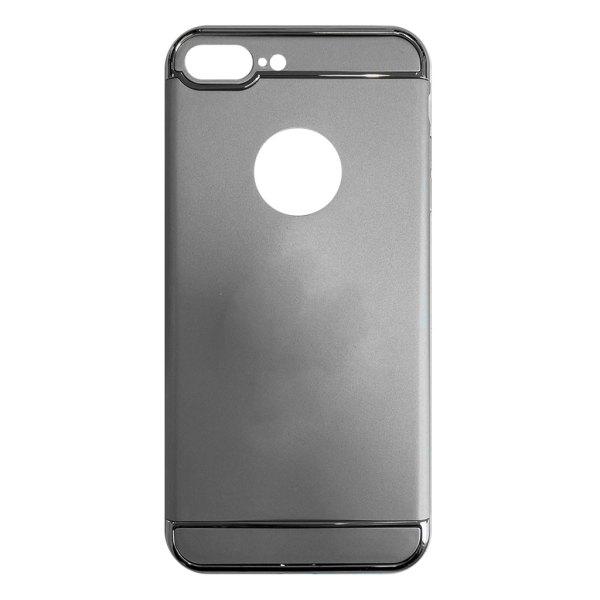 Apple hoesjes Fit Fashion – Hardcase Hoesje –  Geschikt voor iPhone 7 Plus – Zilver