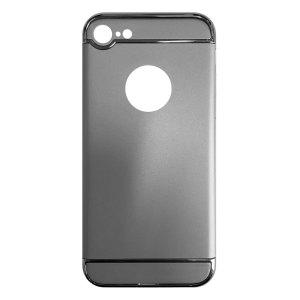 Apple hoesjes Fit Fashion – Hardcase Hoesje –  Geschikt voor iPhone 7 – Zilver