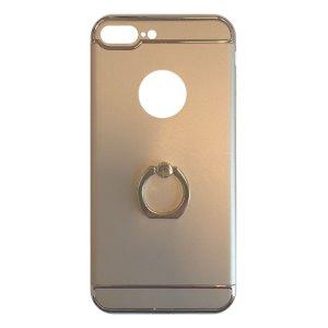 Apple hoesjes Fit Fashion – Hardcase Hoesje –  Met ring – Geschikt voor iPhone 7 Plus – Goud