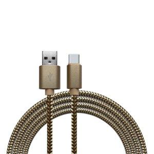 Kabels Khocell – USB-C Kabel – 1 meter – Goud