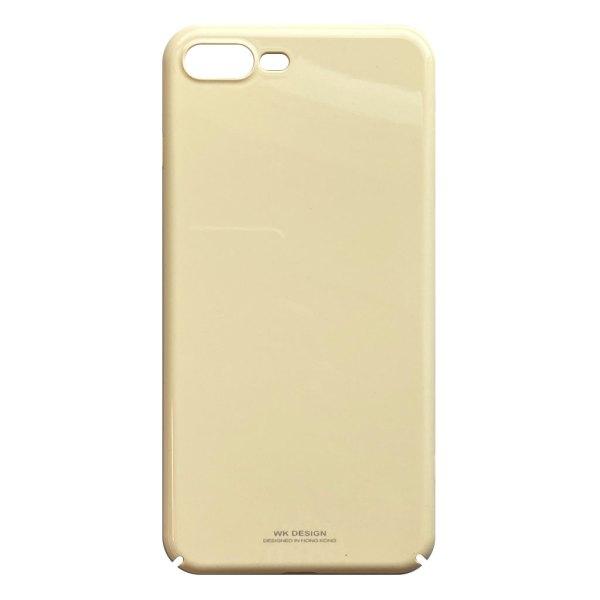 Apple hoesjes WK Design – Hardcase hoesje geschikt voor iPhone 7 Plus / 8 Plus – Geel