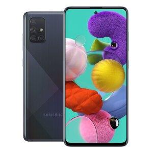 Samsung telefoons Samsung – Galaxy – A71 – Mobiele telefoon – Dual Sim – 128GB – Prism Crush Black