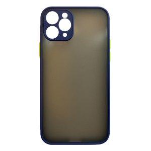 Apple hoesjes My Choice – Siliconen/Hardcase hoesje voor Apple iPhone 11 Pro – Navy