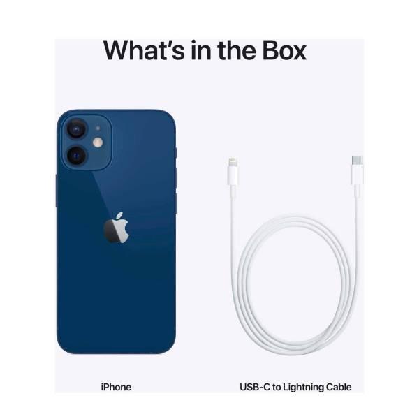 Apple Telefoons Apple – iPhone 12 Mini – Mobiele telefoon – 64GB- Blauw – NIEUW!!! (Marge toestel)