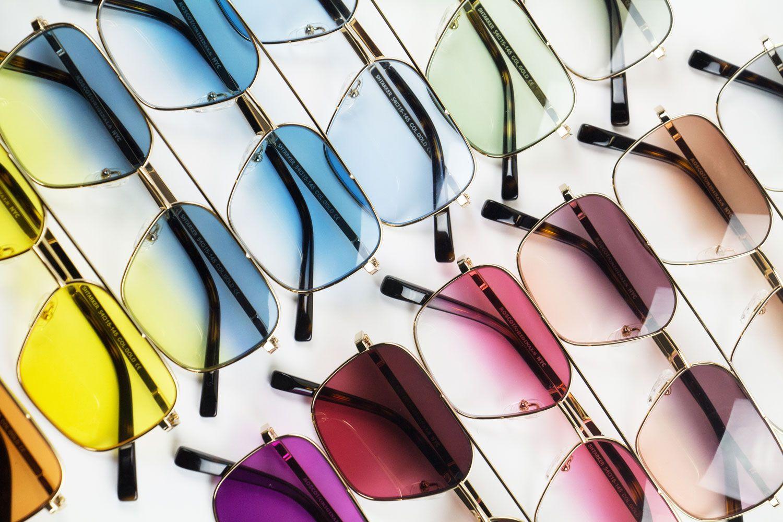 Moscot / Lunette de soleil verres colorés