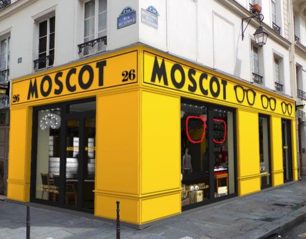 Boutique Moscot - 26 rue du temps 75004 Paris