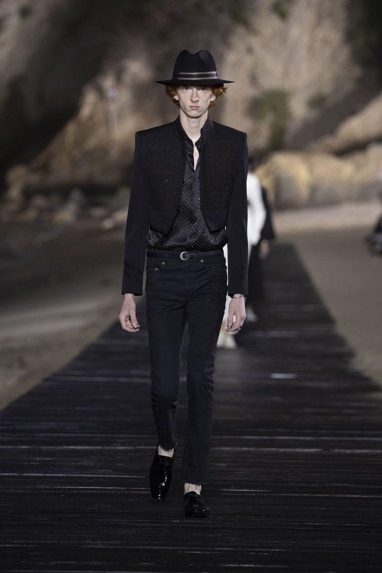 Saint Laurent Paris - Men SS20 - Look07