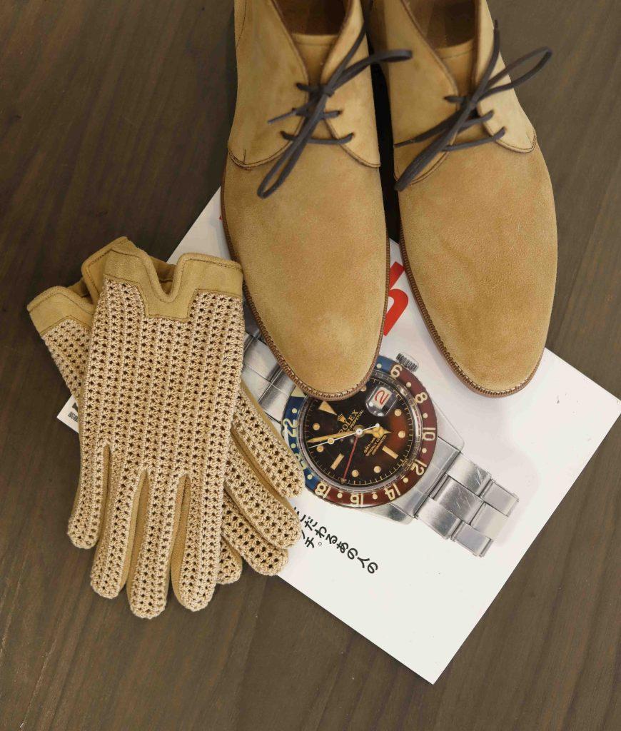 malfroid desert boot chukka velours gant atelier