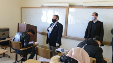 Photo of الدكتور الحوراني يتفقد سير الامتحانات