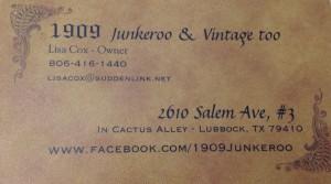 Junkeroo & Vintage Too Logo