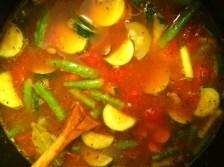 Raina Cooked Stone Soup!