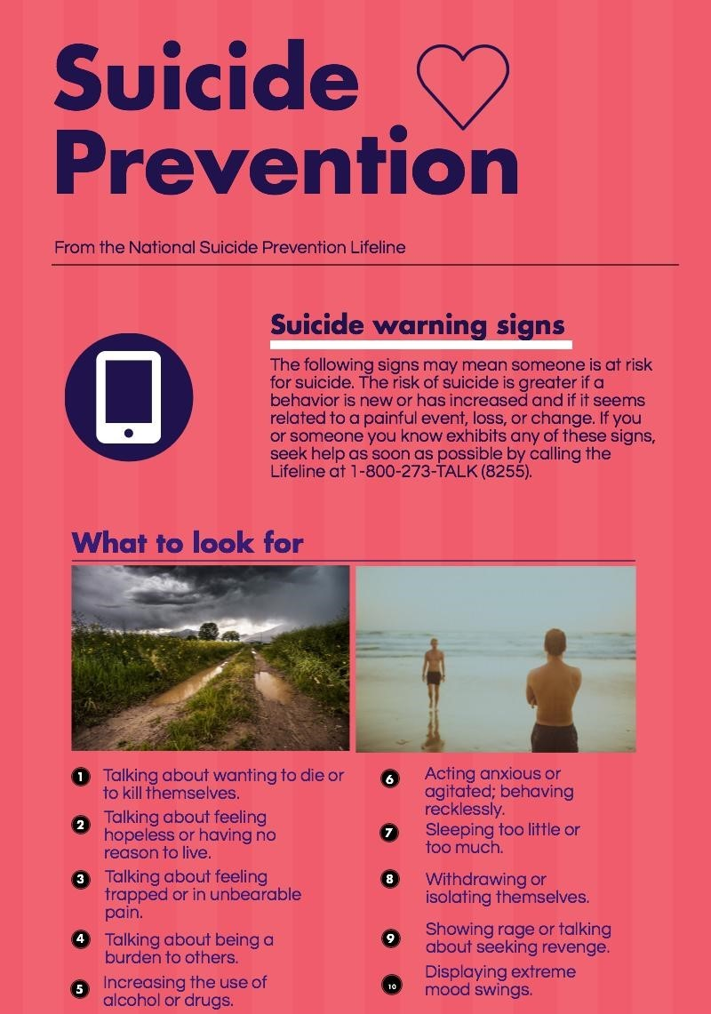 pictures College Suicide — Know the Warning Signs