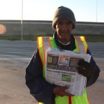 Rain or Shine: Selling Newspapers Every Sunday