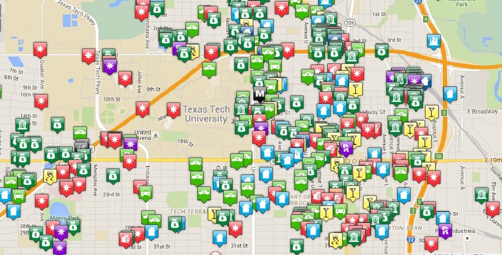 MAP | The Hub@TTU
