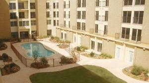U-Lofts is located right next to the campus of Texas Tech University. Picture provided by U-Lofts.