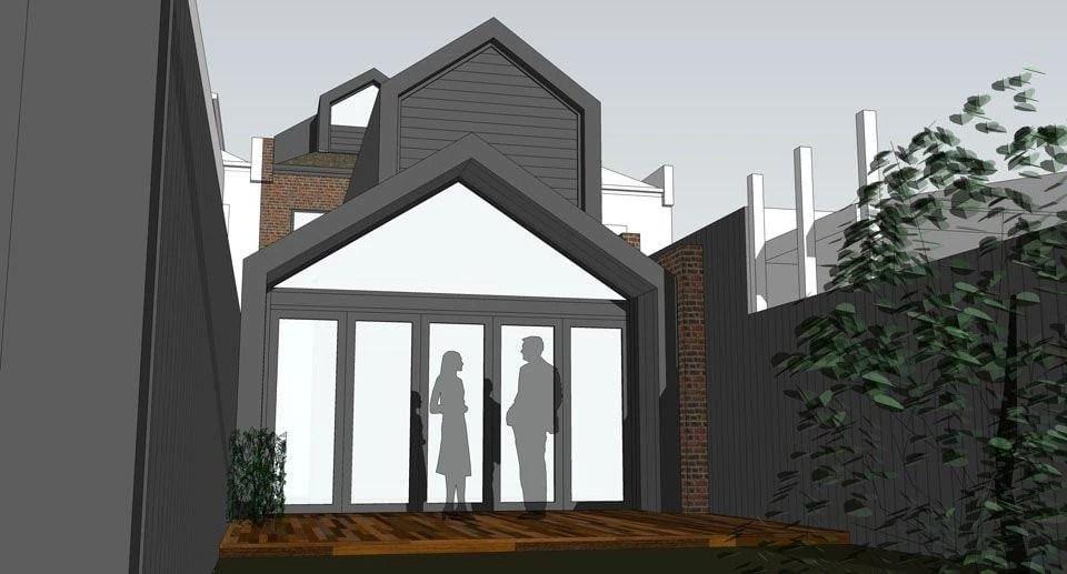 "Foto: Reprodução / <a href=""http://nicowenarchitects.com.au/projects/gable-house/"" target=""_blank"">Nic Owen Architects</a>"