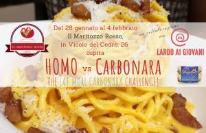 homo vs carbonara
