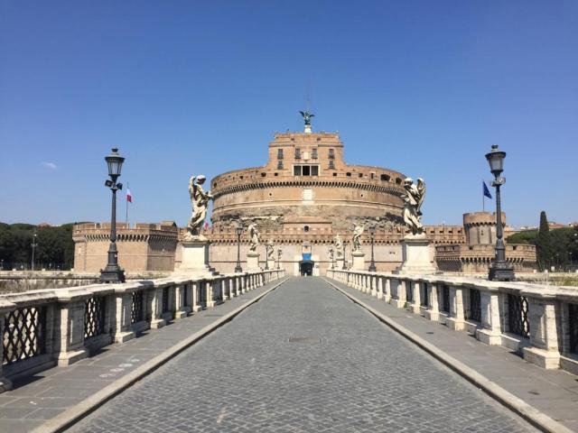 Roma in quarantena foto