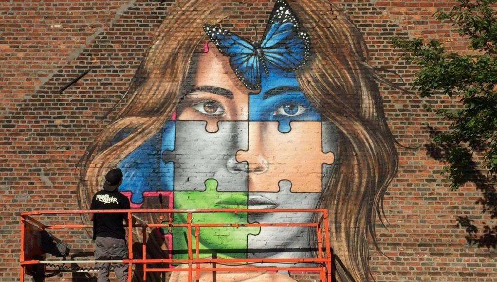 covid 19 street artist