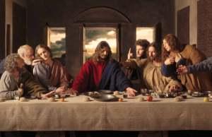 leonardo da vinci ultima cena chiesa degli artisti
