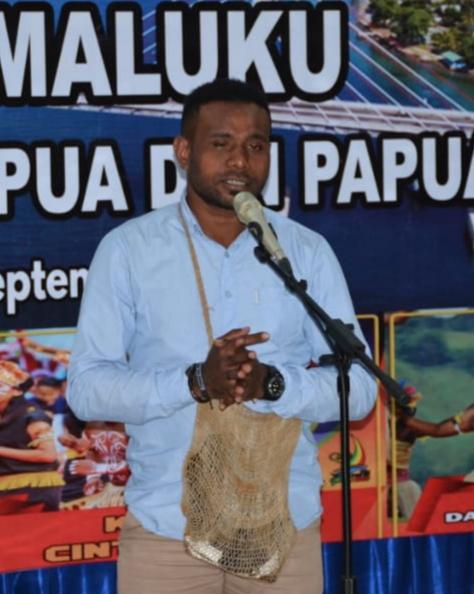Ketua Perhimpunan Mahasiwa/i Papua di Kota Ambon