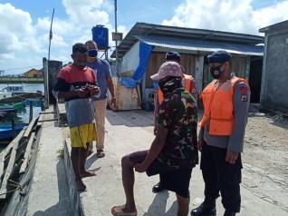 Brimob Maluku patroli tanggap bencana