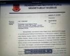 Surat Gubernur Papua cabut dan batalkan Pelantikan Plt. Sekda Mimika oleh Bupati Mimika 21 Juli 2020