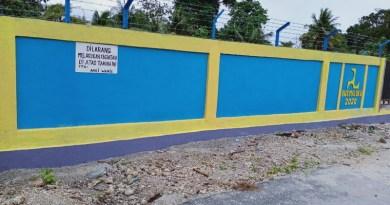 Ahli Waris pasang tanda larangan pada lokasi pembangunan proyek irigasi Desa Ngadi Kota Tual