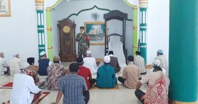 Kodim 1503 Tual sosialisasi New Normal di Masjid Vatdek