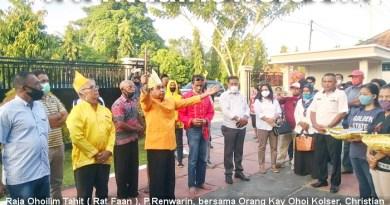 Acara Adat Kei Cabut Sasi di Kantor Pertanahan Kabupaten Malra