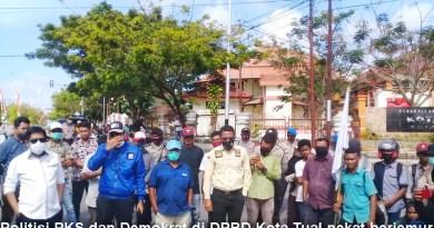 PKS dan Demokrat Kota Tual terima aspirasi aksi demo Cipayung Plus