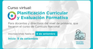 Última edición del curso virtual Planificación Curricular y Evaluación Formativa – Inscríbete