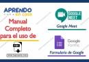 Manual para el uso de Google Meet y el Formulario de Google [PDF]