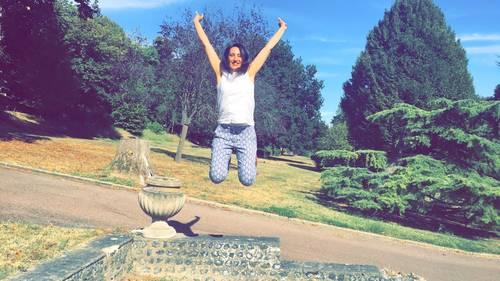 Sophia Andréa heureuse et en paix