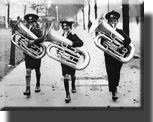 Lad with tubas