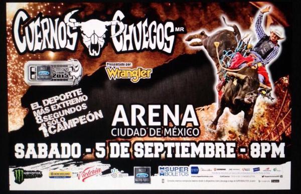 Cuernos Chuecos en Arena Ciudad de México