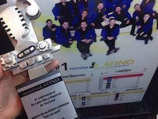 Reconocimiento de Monitor Latino a Banda MS