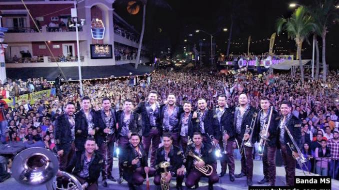 Banda MS - Carnaval de Mazatlán 2016