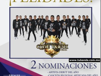La Bandononona Clave Nueva nominada a los Billboards 2016