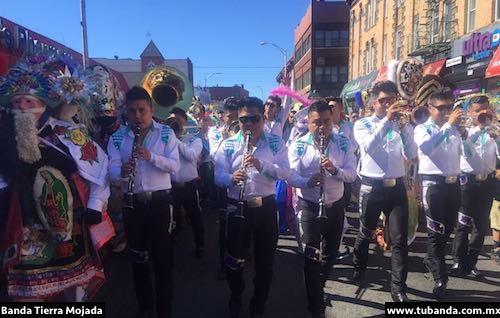 Banda Tierra Mojada en USA