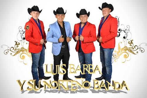 Luis Barba y su norteño banda