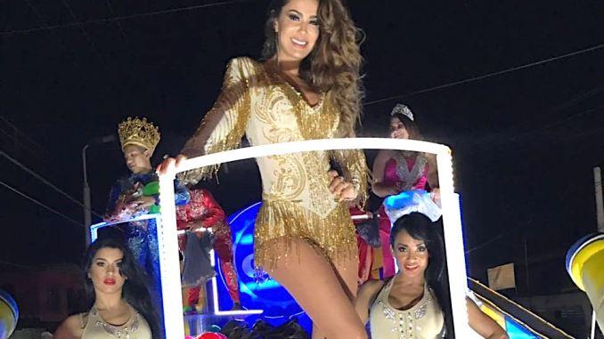 Ninel Conde en Carnaval de Soledad