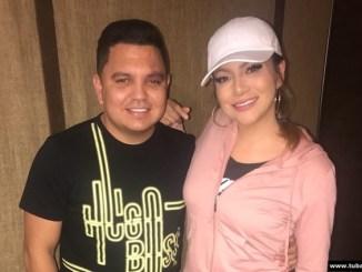 Helen Ochoa y Luciano Luna