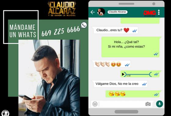 Claudio Alcaraz - WhatsApp