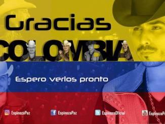 Espinoza Paz en Colombia